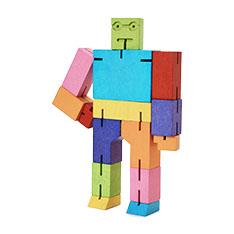 キューボット ウッドトイ マルチカラー ミディアムの商品画像