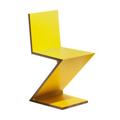 280 ZIG-ZAG チェア イエローの商品画像