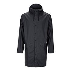 RAINS ロングジャケット ブラック XXS/XSの商品画像