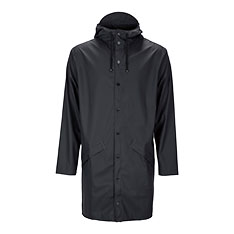 RAINS ロングジャケット ブラック XS/Sの商品画像