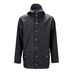 RAINS グロッシー ジャケット ブラック XXS/XSの商品画像