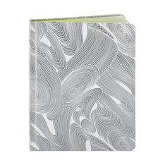 MoMA テキスタイル ノートブック シルバーの商品画像