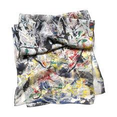 MoMA ポロック White Light スカーフの商品画像