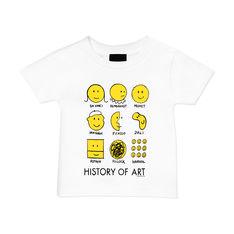 MoMA ヒストリーオブアート ユース Tシャツ 6Yの商品画像