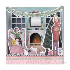 MoMA クリスマスカード デコレーション (8枚セット)の商品画像