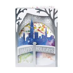 MoMA クリスマスカード ウィンタースカイライン (8枚セット)の商品画像