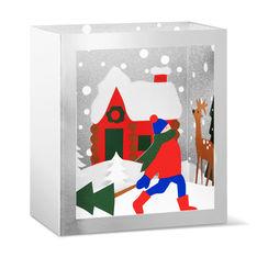 MoMA クリスマスカード フェスティブフォレスト (8枚セット)の商品画像