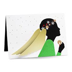 MoMA クリスマスカード ラディアントエンジェル (8枚セット)の商品画像