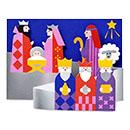 MoMA クリスマスカード モダンネイティビティ (8枚セット)の商品画像
