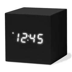 MoMA カラーキューブクロック ブラックの商品画像