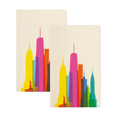NYCカラースカイライン ノートブックの商品画像