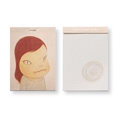 MoMA 奈良美智 グリッド ミニメモパッドの商品画像