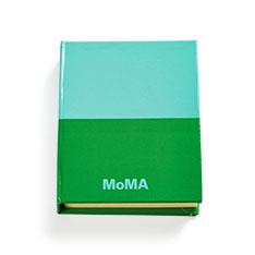 MoMA デュオカラー スティッキーノート グリーンの商品画像