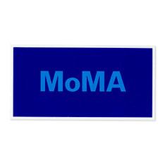 MoMA デュオカラー ステッカー ブルーの商品画像