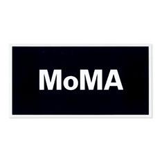 MoMA デュオカラー ステッカー ブラックの商品画像