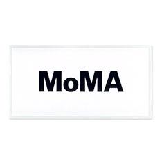 MoMA デュオカラー ステッカー ホワイトの商品画像