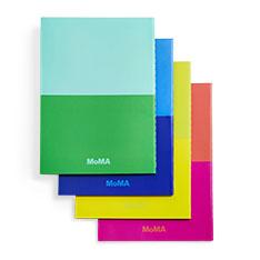 MoMA デュオカラー ノートブック(4冊セット)の商品画像