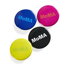 MoMA デュオカラー 缶バッジ アソートの商品画像