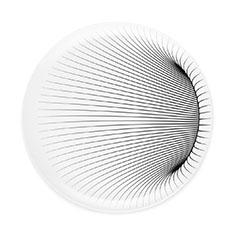 ザハ・ハディド:イリュージョン ディナープレート(2枚セット)の商品画像