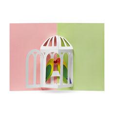 MoMA ポップアップカード メロディアスバード(6枚セット)の商品画像