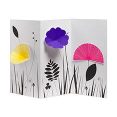 MoMA ポップアップカード ブルーミングガーデン(1枚)の商品画像