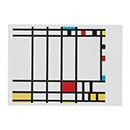 モンドリアン:TRAFALGAR SQUARE ポストカードの商品画像