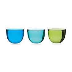 カラー ガラスボウル (3個セット)の商品画像