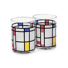 MoMA モンドリアン タンブラー(2個セット)の商品画像