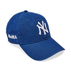 NY ヤンキースキャップ ブライトロイヤルブルー MoMA Editionの商品画像