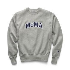 Champion クルーネックスウェットシャツ MoMA Edition M グレーの商品画像