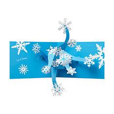 MoMA クリスマスカード レットイットスノーの商品画像
