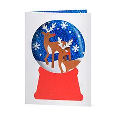 MoMA クリスマスカード スノートナカイの商品画像