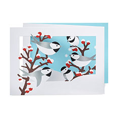 MoMA クリスマスカード 冬の小鳥の商品画像