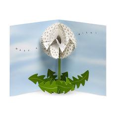 MoMA ポップアップカード ダンデライオンウィッシュ(6枚セット)の商品画像