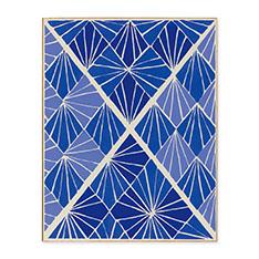 ソニア・ドローネー: PLATE 24 BLUE フレーム付ポスターの商品画像