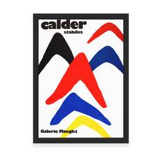 カルダー:STABILES フレーム付ポスターの商品画像