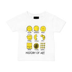 MoMA ヒストリーオブアートキッズ Tシャツ 70cmの商品画像