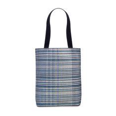 Chilewich グリッド トートバッグ ブルーの商品画像