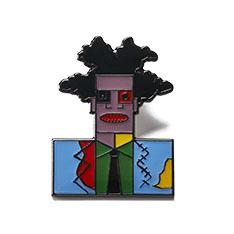 グレート モダン アーティスト ピン バスキアの商品画像