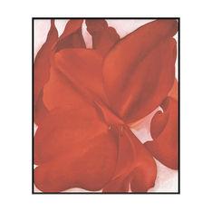 オキーフ:Red Cannas フレーム付の商品画像