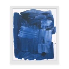 ホフマン:Blue Monolith フレーム付ポスターの商品画像