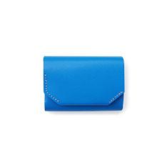 ミニマルウォレット トリム ブルーの商品画像