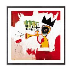 バスキア:Trumpet フレーム付ポスターの商品画像