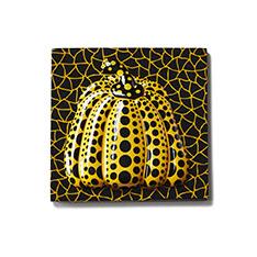 草間彌生:マグネット 南瓜 イエローの商品画像