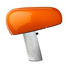 スヌーピー ランプ オレンジの商品画像