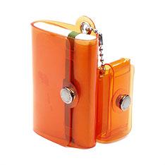 ミニマルウォレット ポケット パル クリアオレンジの商品画像