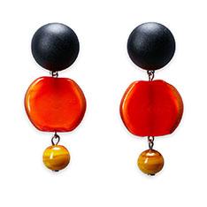 SENT ミックス ピアス オレンジの商品画像