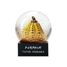 草間彌生:スノードーム パンプキンの商品画像