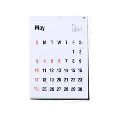 タイプフェイス カレンダー 2020の商品画像