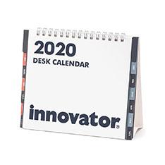 イノベーター デスクカレンダー 2020の商品画像